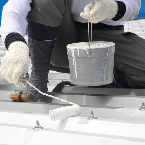 環境を意識した塗料を使用